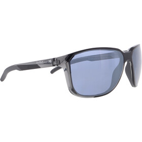 Red Bull SPECT Bolt Sunglasses Men, shiny x'tal grey/blue-silver flash